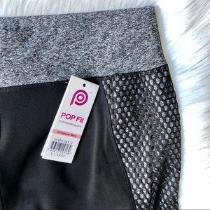Mesh Detail Workout Pants